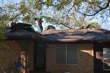 Roofing Begins